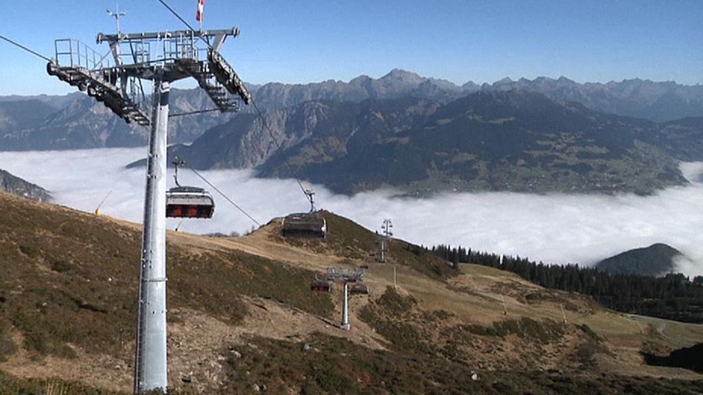 Lanovka se solárním pohonem v Rakousku