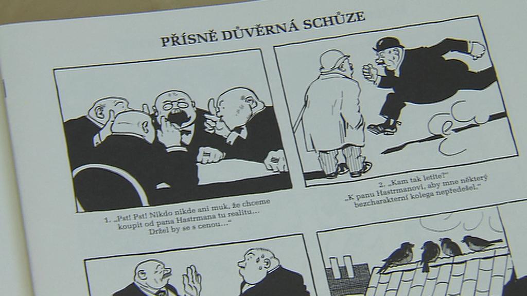 Z Nezbedných komiksů Josefa Lady