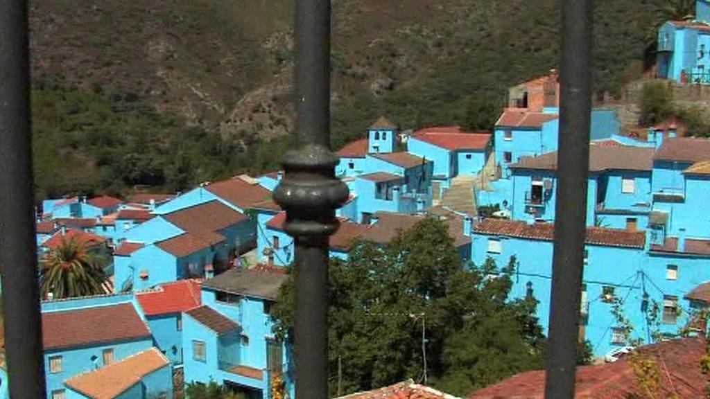 Šmoulí vesnice ve Španělsku