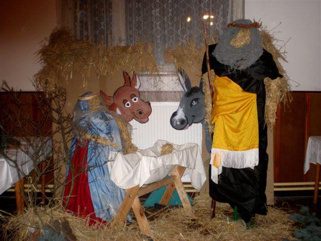 Betlém na adventní výstavě