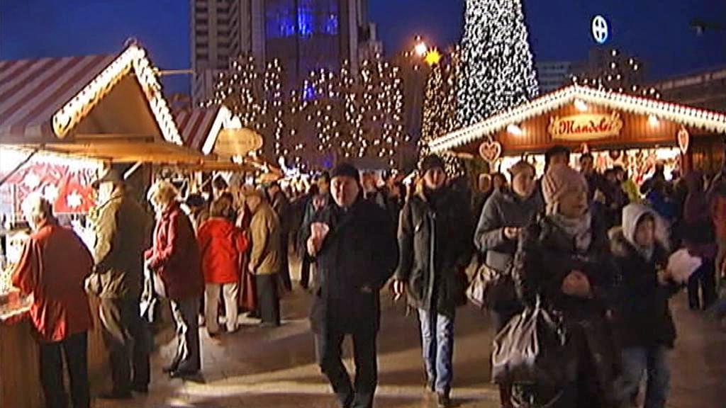 Berlínské vánoční trhy