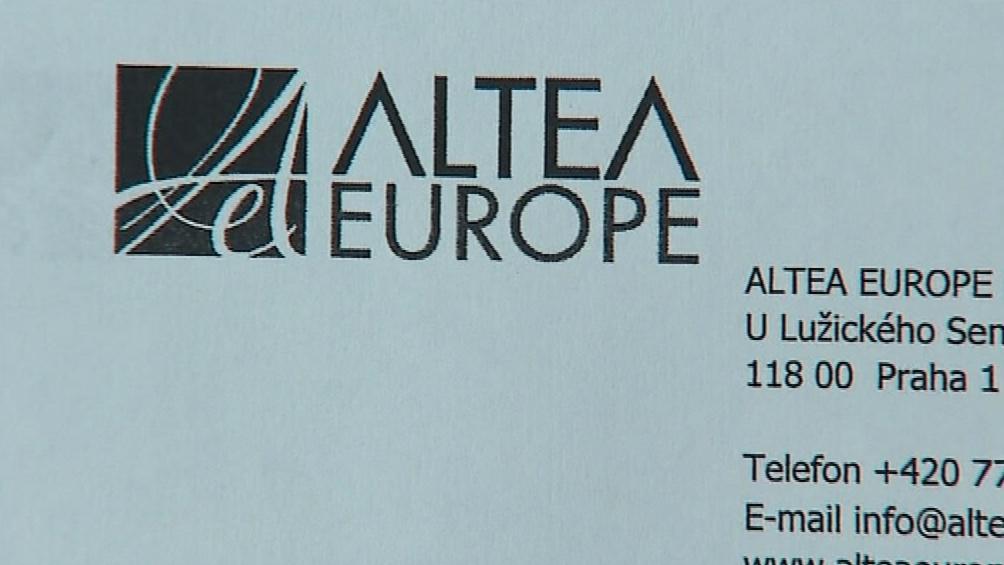 Směnku od Netedenu koupila firma Altea Europe