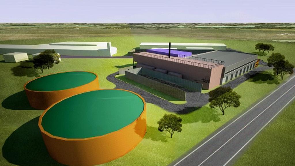 Vizualizace bioplynové stanice