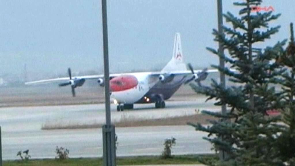 Arménské letadlo muselo přistát v tureckém Erzurumu
