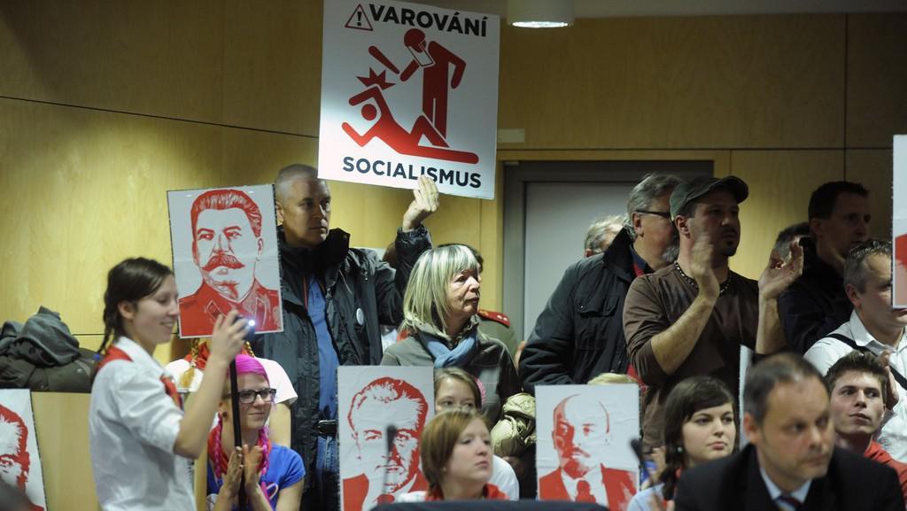 Protikomunistická demonstrace