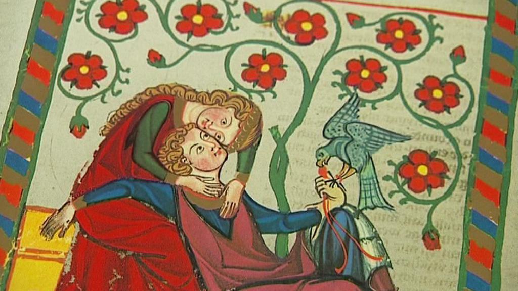 Středověké knižní malby