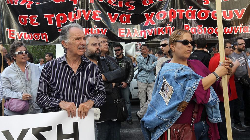 Stávka v Řecku
