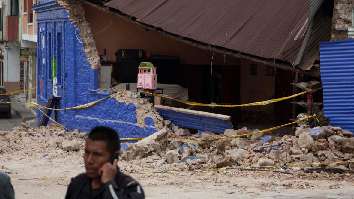 Zemětřesení v Guatemale