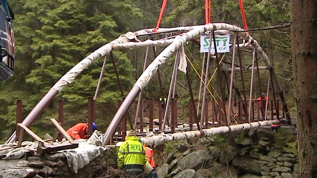 Nový most u Turnerovy chaty