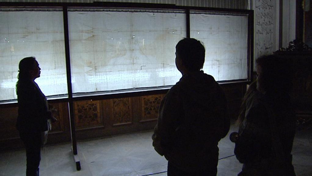 Kopie Turínského plátna v Broumově