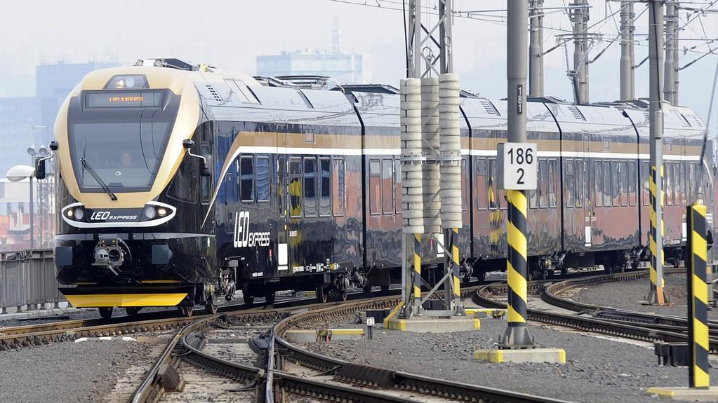 Leo Express v Praze