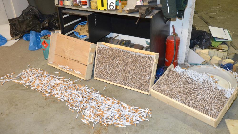 Zabaveno bylo 1,3 milionu kusů padělků cigaret