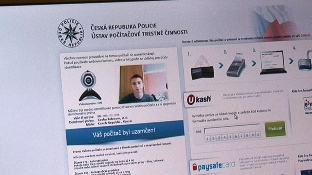 Podvodný program zablokuje počítač a snímá uživatele webkamerou