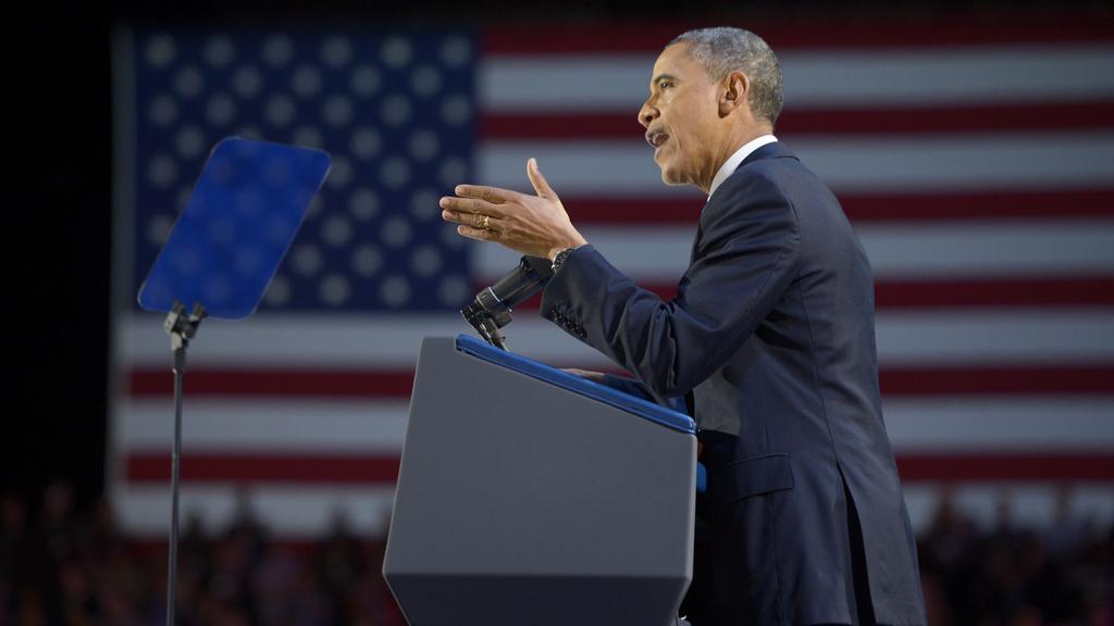 Barack Obama poděkoval Američanům