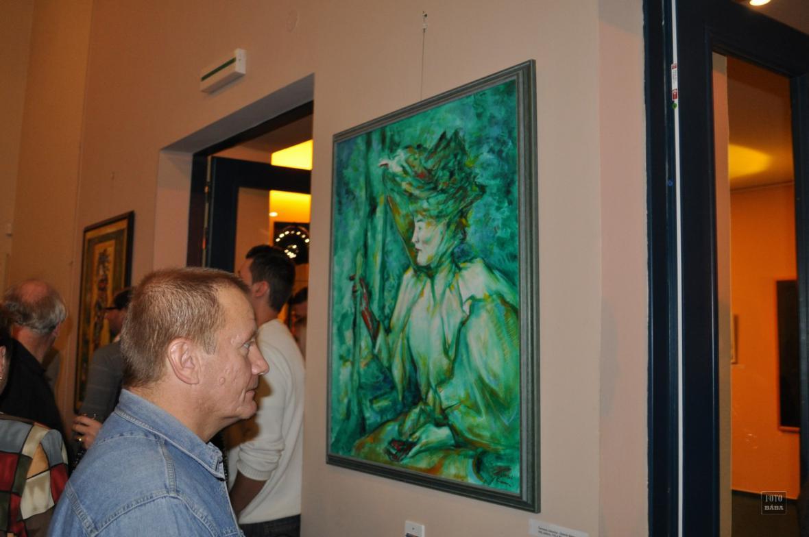 Z výstavy Vítězslava Vondry