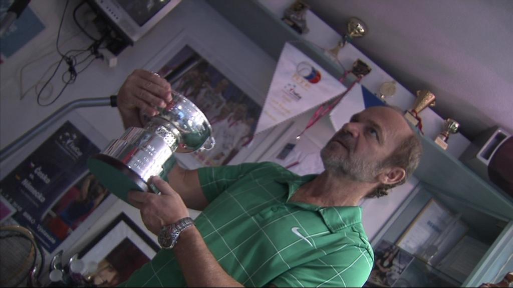 Milan Šafář přivedl fedcupovou hrdinku k tenisu ve třech letech