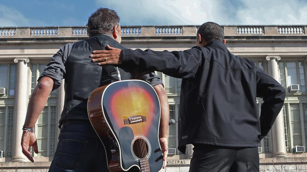 Bruce Springsteen a Barack Obama
