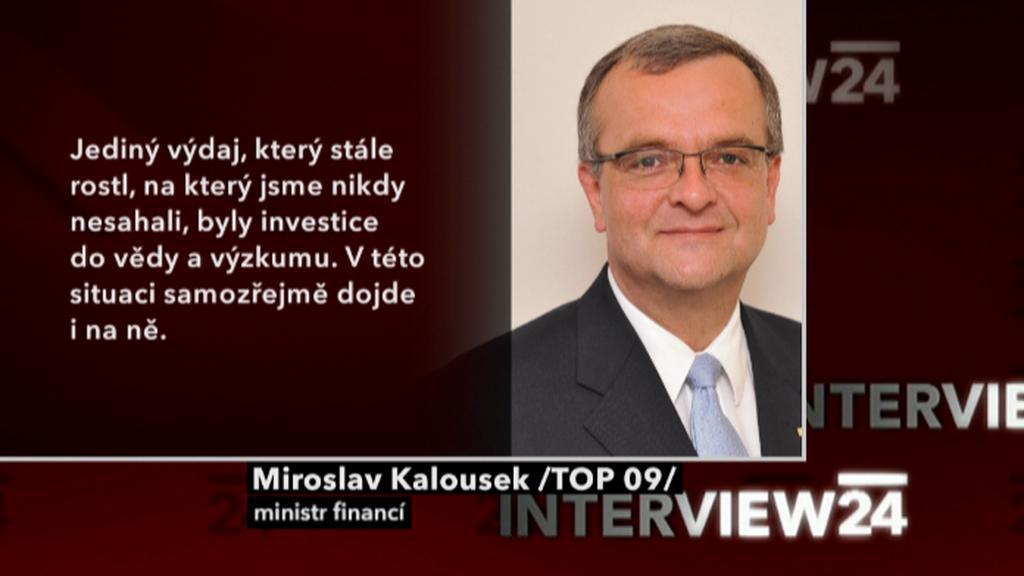 Výrok Miroslava Kalouska