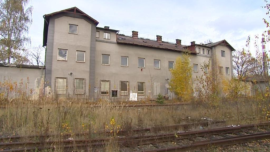 Budova nádraží ČD v České Lípě