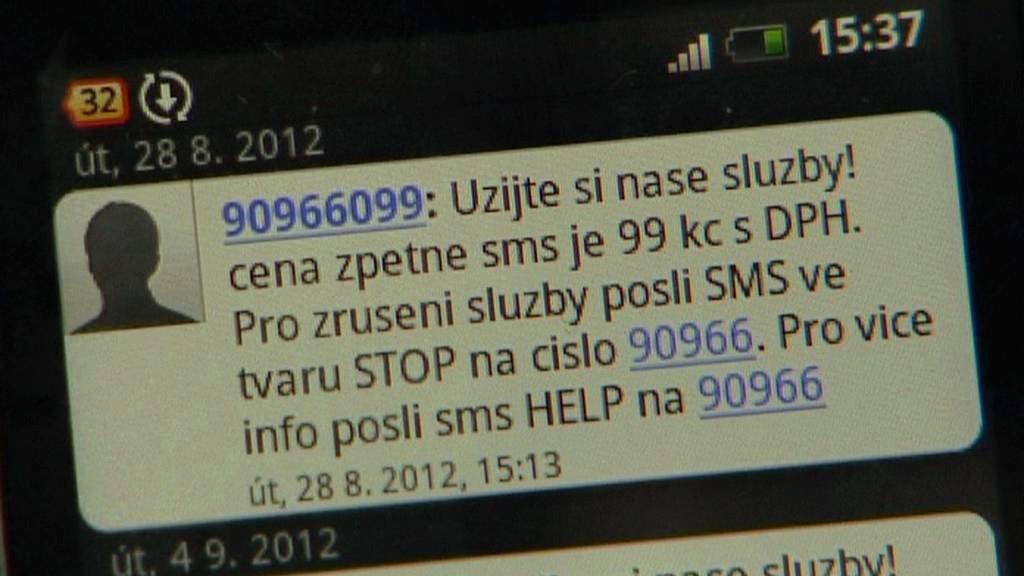 Nevyžádaná SMS