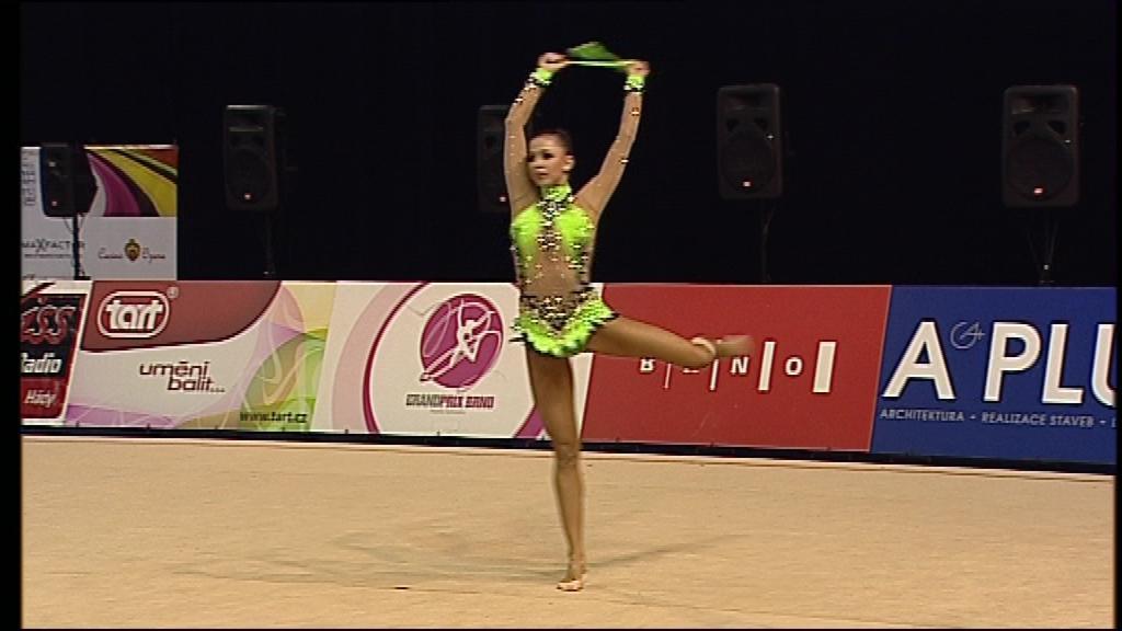 Brněnskou Grand Prix ovládla ruská favoritka Darija Dmitrijevová