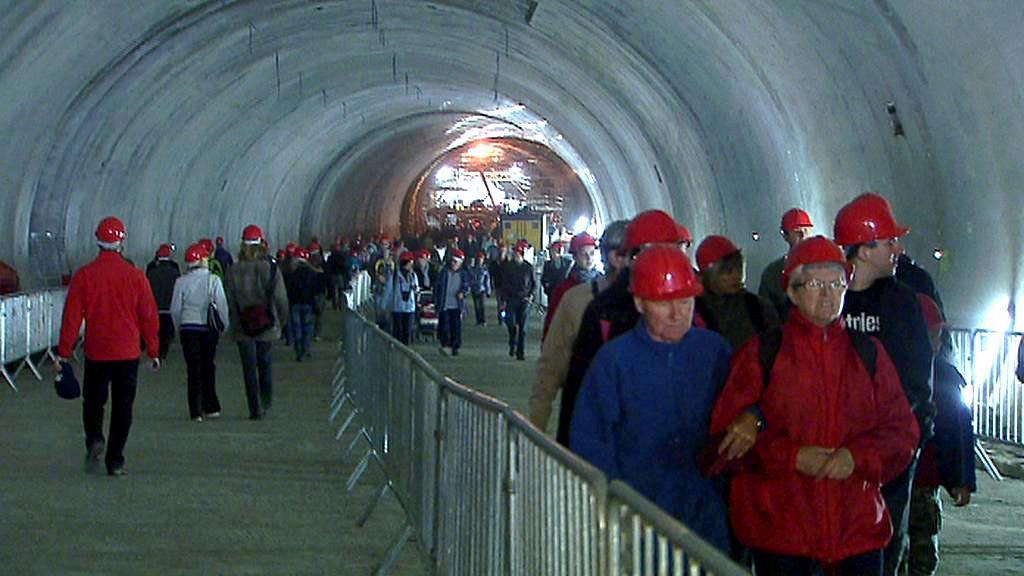 Prohlídka tunelu Blanka