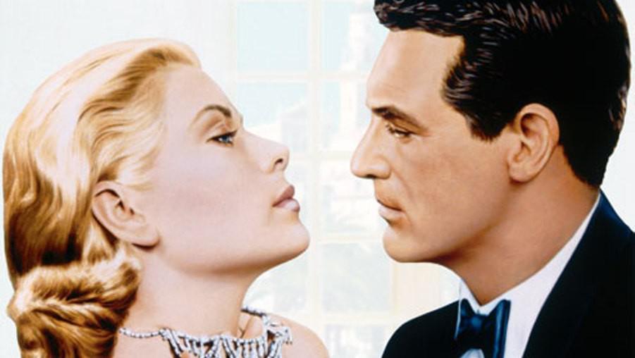 Chyťte zloděje / Grace Kellyová a Cary Grant