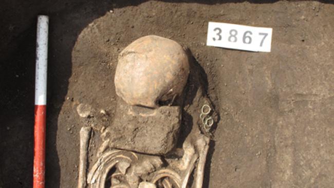 Nalezené kosterní pozůstatky