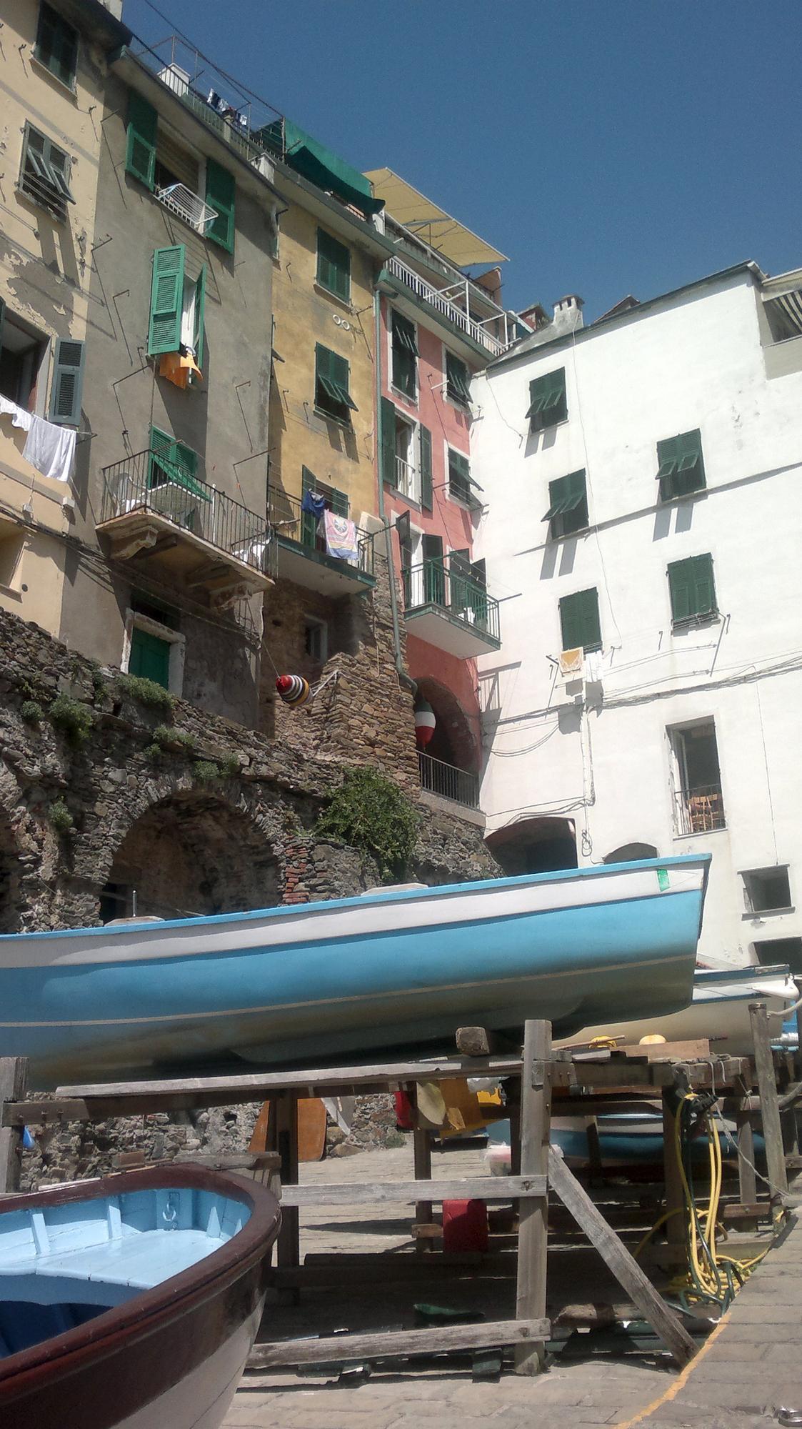 Riomaggiore - vesnička, kde se zastavil čas
