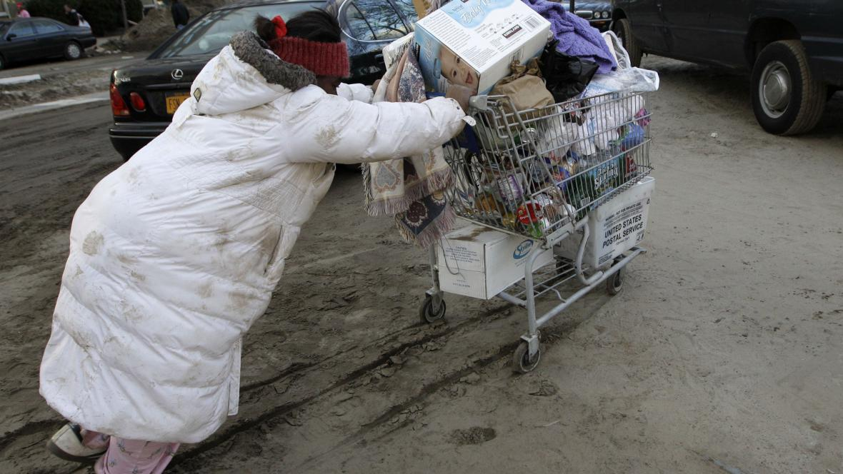 Řadu lidí připravila Sandy o všechno