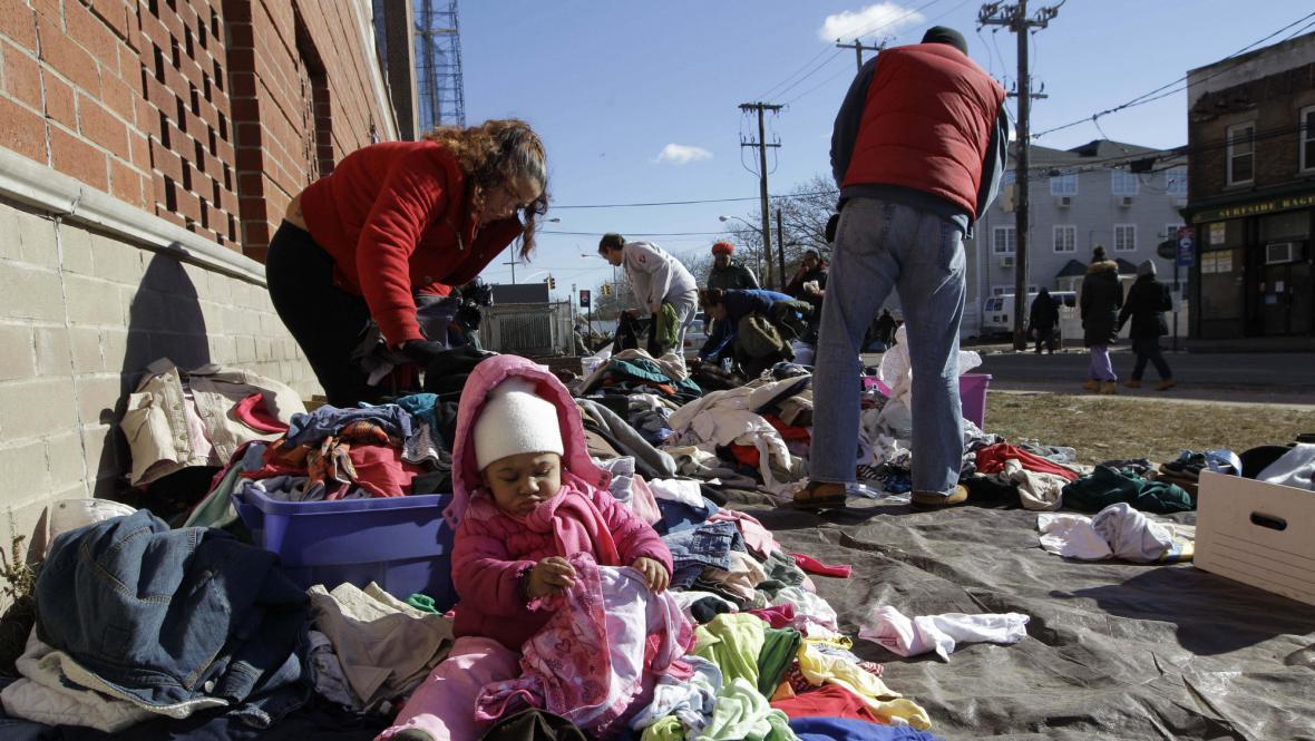 New York se vypořádává s následky bouře Sandy