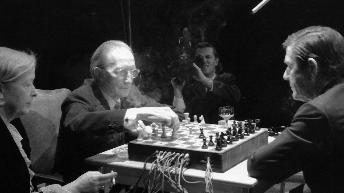 Cage a Duchamp v Torontu 1968