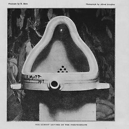 Marcel Duchamp / Fontána