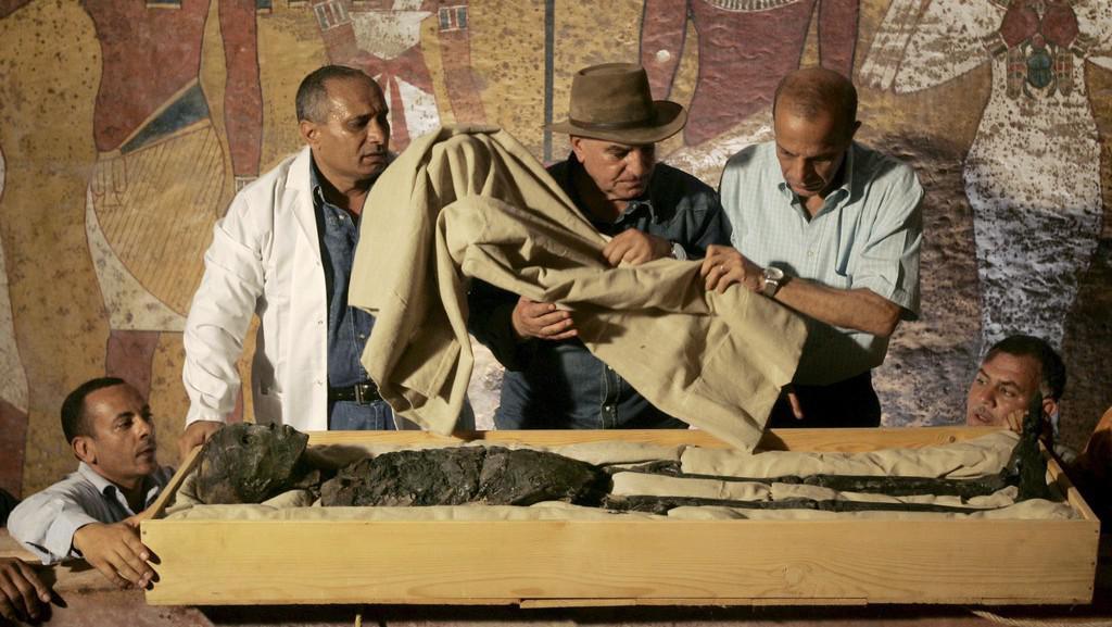 Mumie faraóna Tutanchamona
