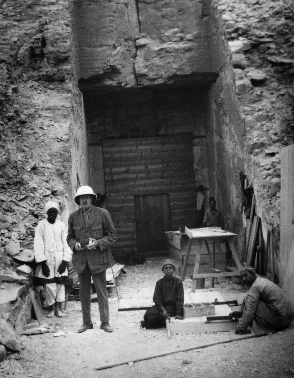 Před Tutanchamonovou hrobkou