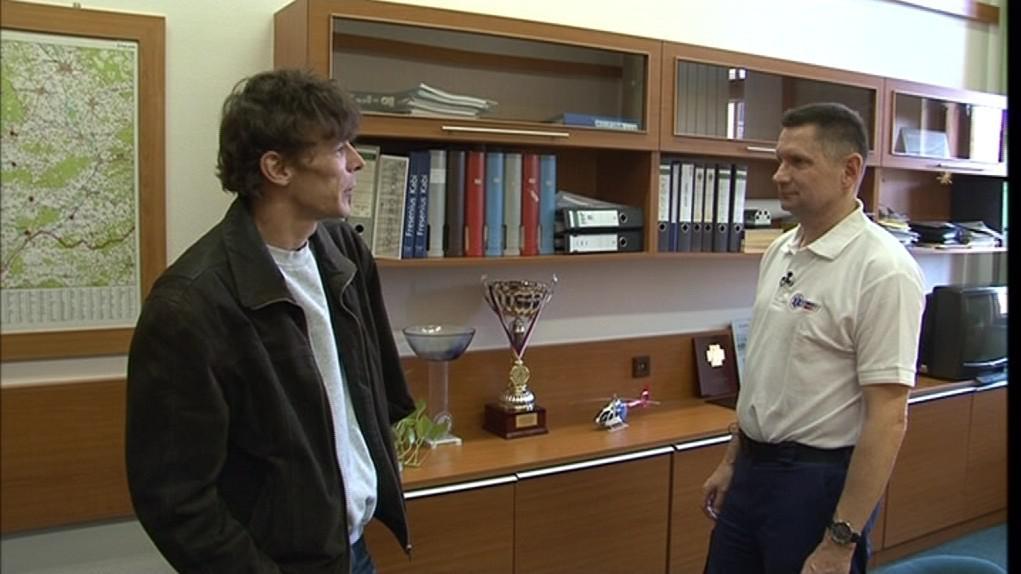 Libor Ševčík byl pro záchranáře výjimečným pacientem