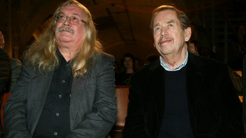 Ivan M. Jirous a Václav Havel