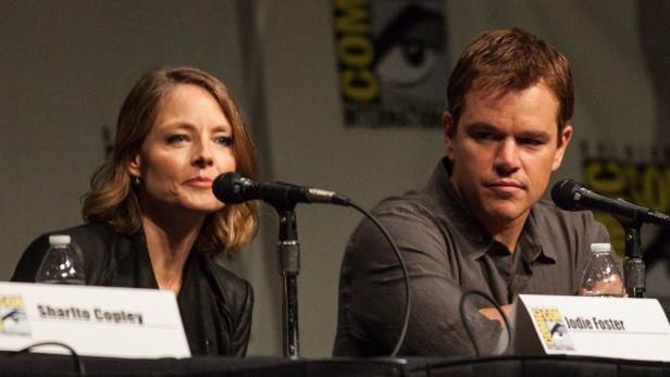 Jodie Foster na Comic Conu s Mattem Damonem