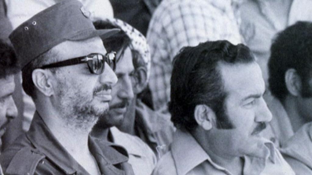 Jásir Arafat a Chalíl Vazír