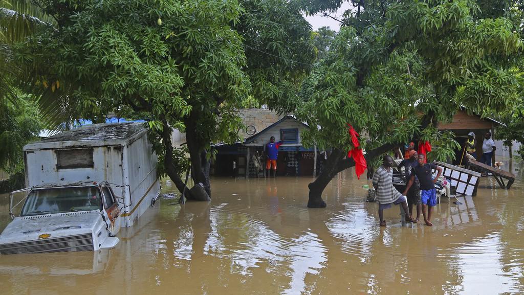 Následky hurikánu Sandy na Haiti