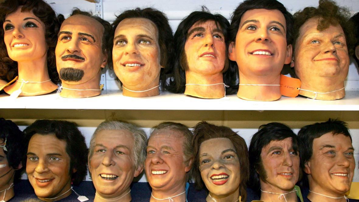 Voskové figuríny z muzea v Great Yarmouthu