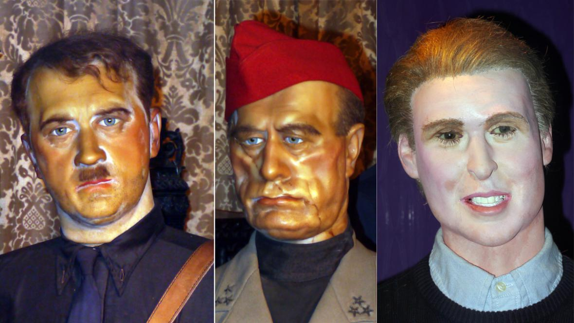 Adolf Hitler, Benito Mussolini a princ William