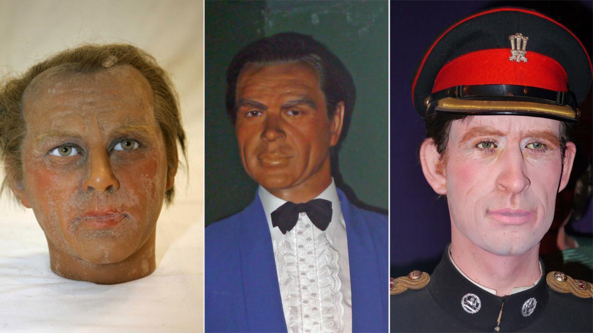 Richard Burton, Sean Connery a princ Charles