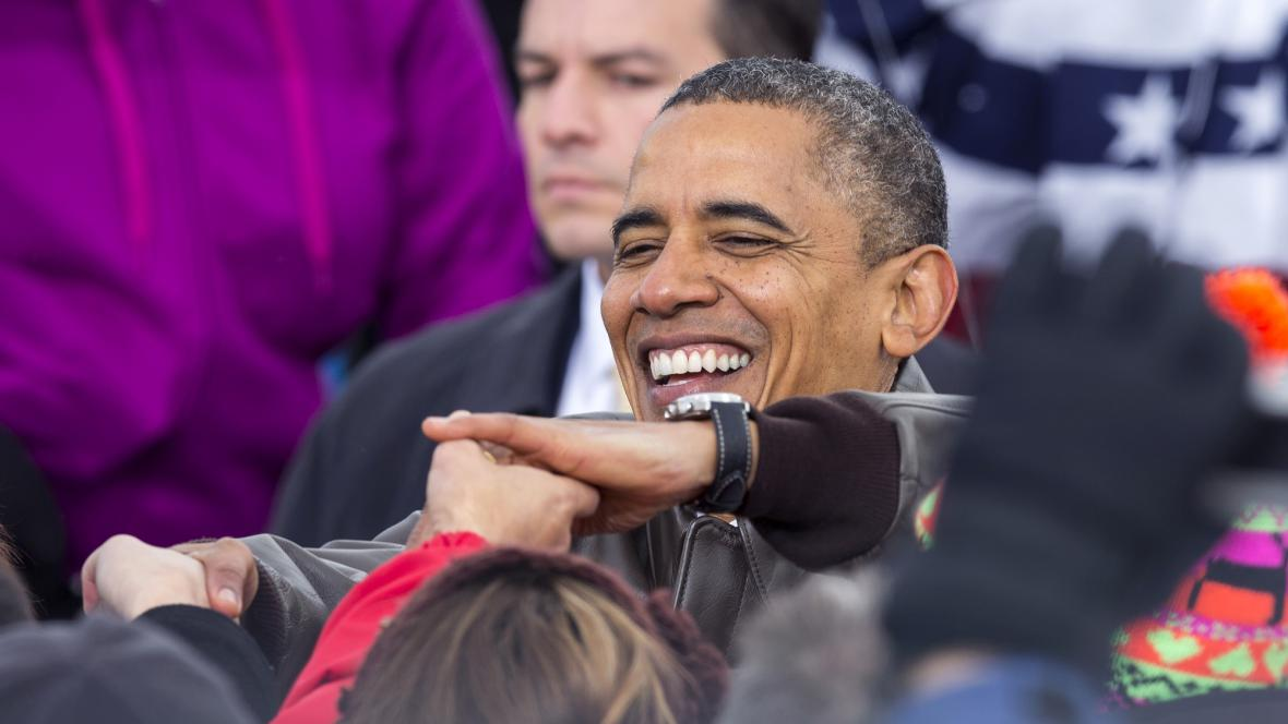 Barack Obama ve Wisconsinu
