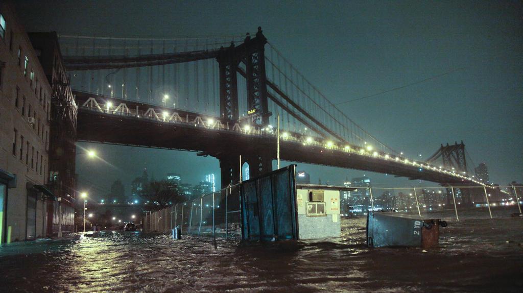 Ulice kolem Manhattanského mostu