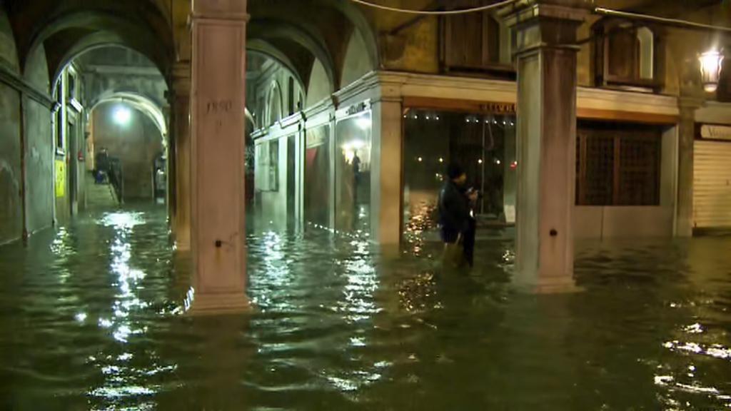 Záplavy v Benátkách
