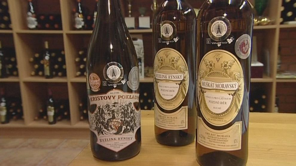 Vína oceněná v Paříži