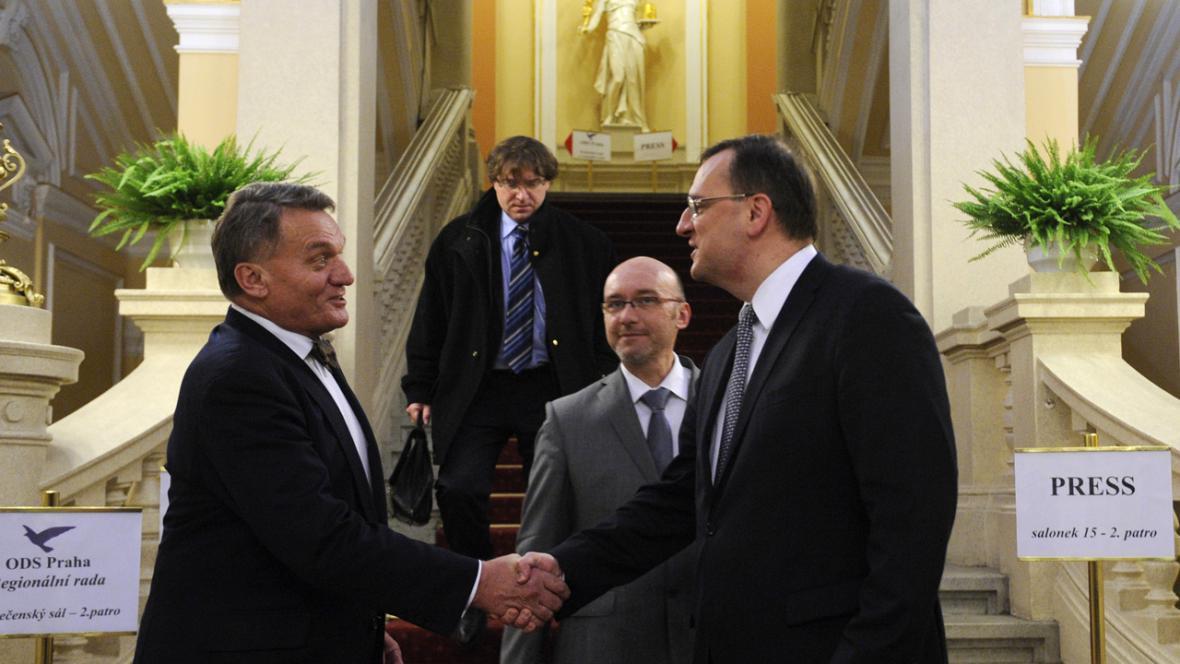 Bohuslav Svoboda a Petr Nečas