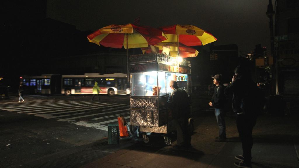 New York se vzpamatovává z bouře Sandy