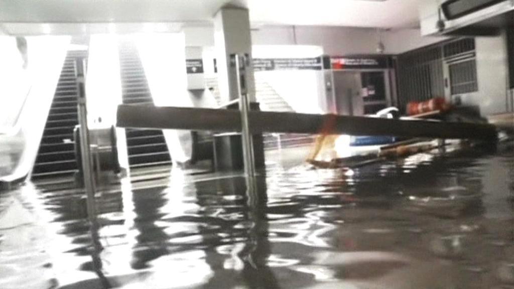 Zatopené newyorské metro